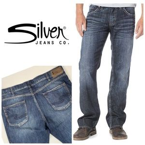 Silver Grayson Heritage Straight Leg👖